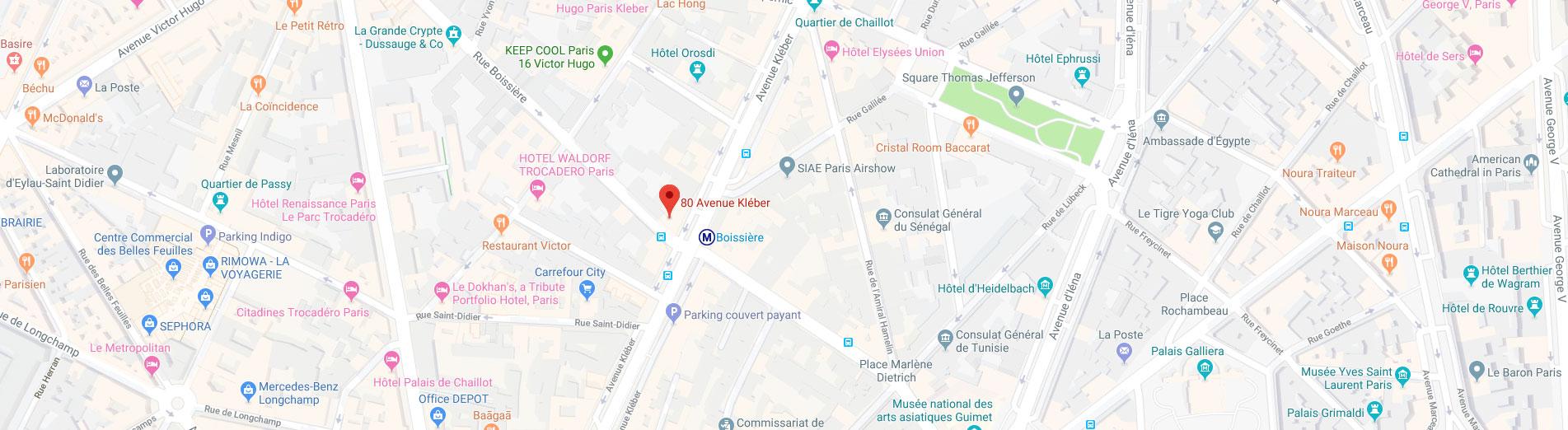 Compas Architecture, 80 avenue Kleber 75116 Paris